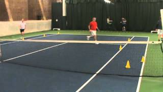 Andy Hill Cardio Tennis Cone Sprints