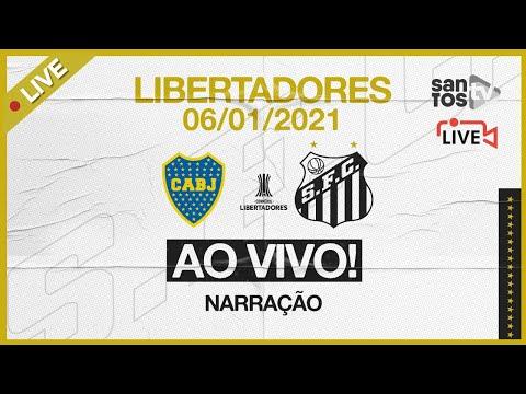 🔴 AO VIVO: BOCA JUNIORS 0 x 0 SANTOS | CONMEBOL LIBERTADORES (06/01/21)