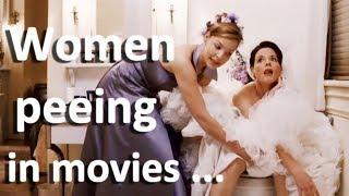 Women peeing in movies