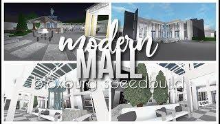 Roblox   Bloxburg   Modern Mall