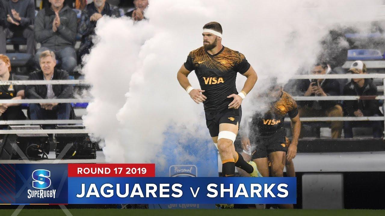 Jaguares v Sharks | Super Rugby 2019 Rd 17 Highlights