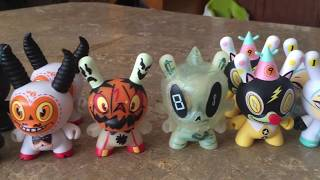 """Brandt Peters x Kidrobot - """"The 13"""" Dunny series unboxing"""