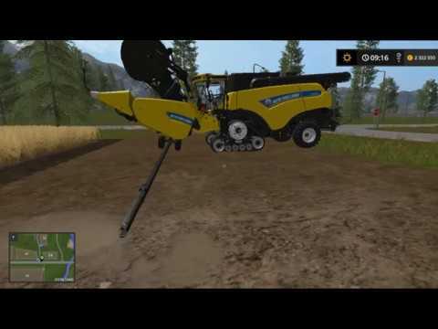 Краткий урок CoursePlay часть 1.   Farming Simulator 17 .настройка комбайна на роботу