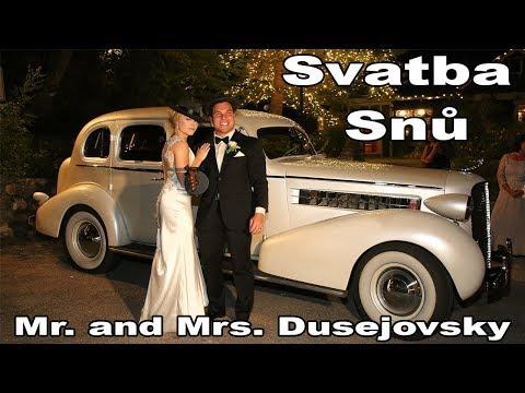 Zákulisí Americké Svatby Kamil a Amie