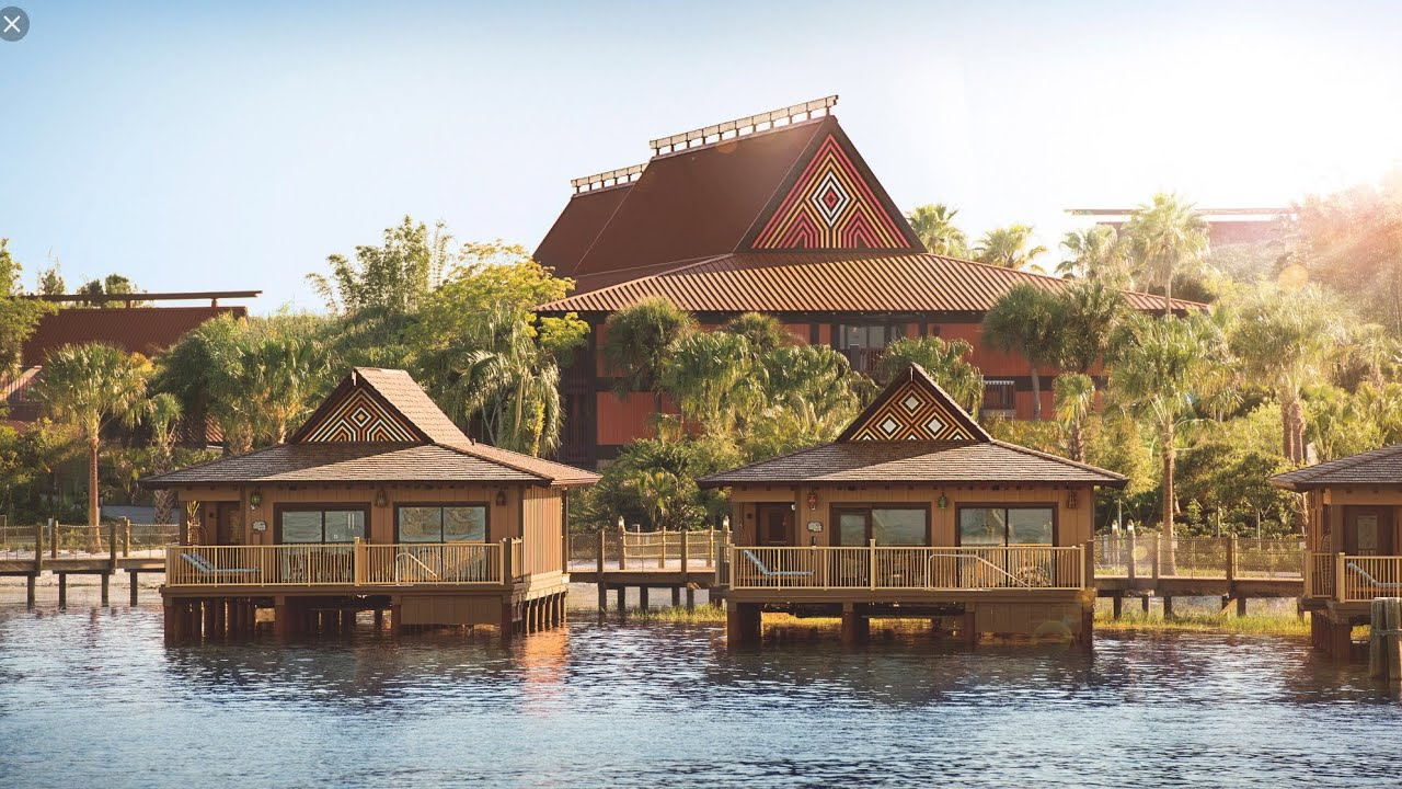 Tour Of Disney S Polynesian Hotel