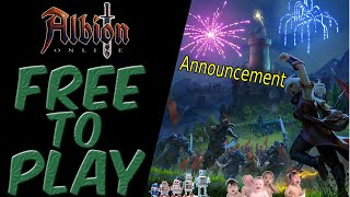 Albion Online | FREE TO PLAY ANNOUNCED FOR APRIL 10th - REACTION
