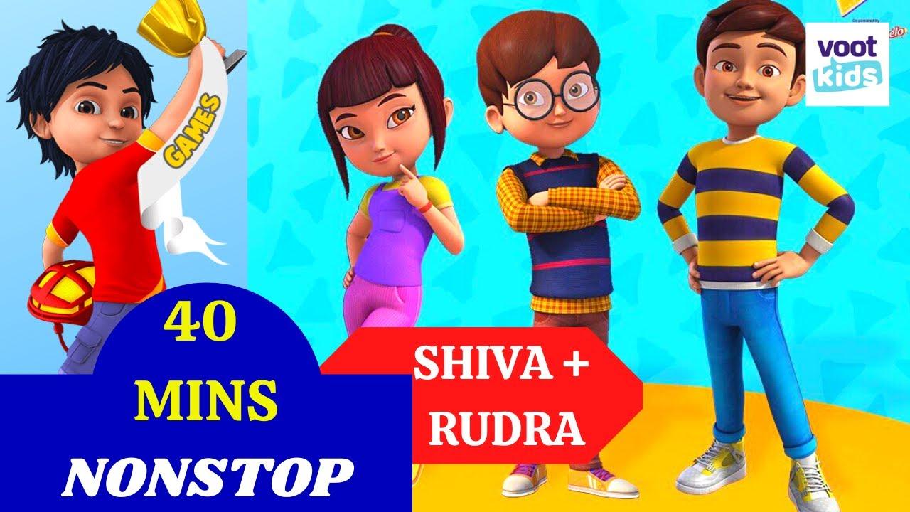 Download Shiva + Rudra | 40 Minutes Non-Stop | Cartoon Videos For Kids | Voot Kids