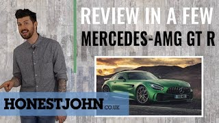 Car review in a few | 2018 Mercedes-AMG GT R - just your everyday track car