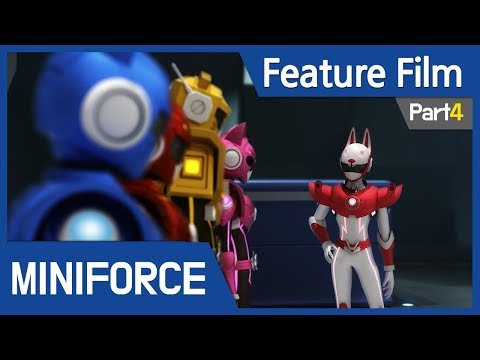 [Feature Film] Mini Force : New Heroes Rise (Part4)