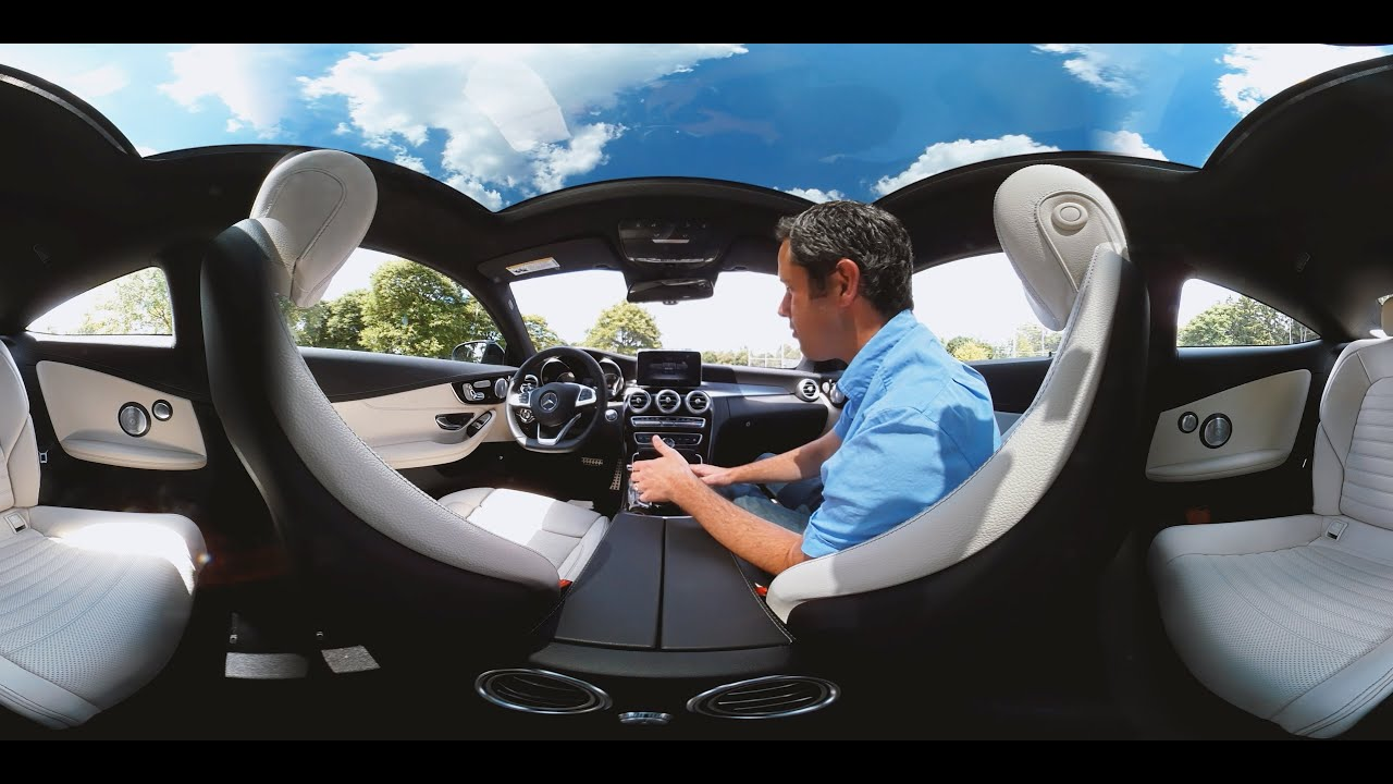 2017 Mercedes Benz C300 Coupe Interior Tour Autoblog 360 Video