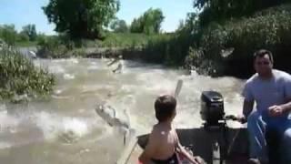 Рай для рыбака.