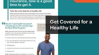 Basics of health coverage enrollment for Ryan White HIV/AIDS program clients