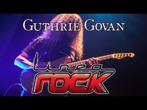Guthrie Govan interview 2011 @LineaRock - by Barbara Caserta