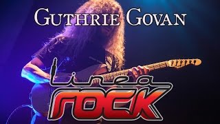 Guthrie Govan interview 2011 @LineaRock - by Barbara Caserta