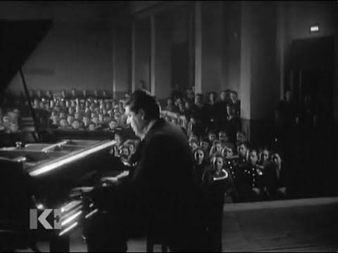 Alexander Kamensky plays Scriabin Etude op. 8 no. 12 - video 1947