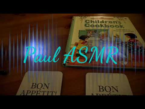 ASMR Kids cookery book
