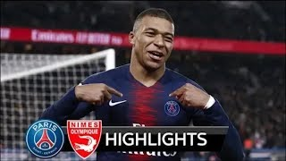 Psg vs nimes 3 - 0 highlights and full all goals 2019 HD