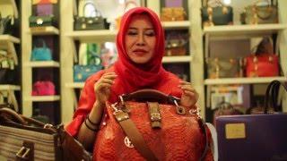 Huraira Leather Bag - 01