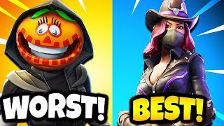 RANKING FORTNITE SEASON 6 SKINS FROM WORST TO BEST! (Fortnite Season 6 Battle Pass Skins)