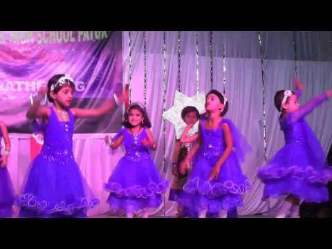 Chanda Chamke Cham Cham dance PRE-PRIMARY GIRLS shahbabu english school patur dist Akola
