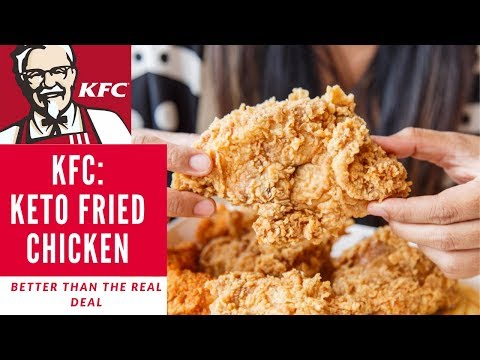KFC:  Keto Fried Chicken V2 - CRUNCHIEST EVER!!! MOST EPIC FLAVOUR