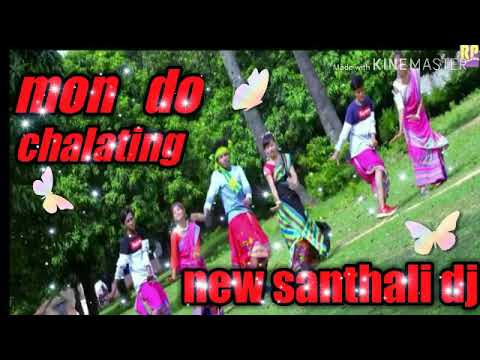 New Santhali DJ Song || Mon Do Chalating || DJ Lakhiswar Dhanbad
