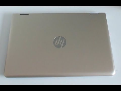 hp pavilion x360 14 2017 convertible laptop unboxing and first impressions youtube. Black Bedroom Furniture Sets. Home Design Ideas
