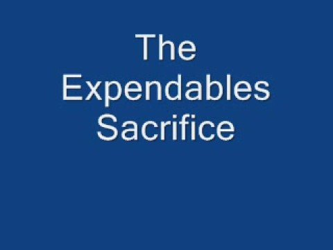 The Expendables Sacrifice