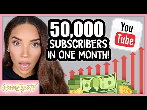 How I Gained 50K SUBSCRIBERS IN 1 MONTH! 5 Tips to Grow Your YouTube Channel 2018 Mp3