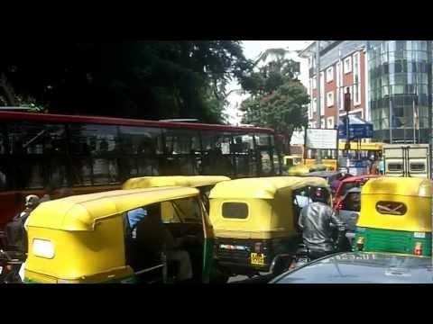 Driving around Bangalore
