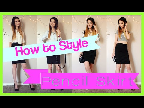 How to Style a Pencil Skirt | Fashion Lookbook 2015
