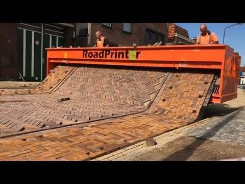 Amazing Modern Road Construction Machines Technology - Fastest Ingenious Construction Worker