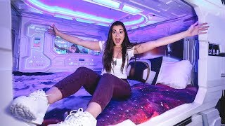 Galaxy Themed Capsule Hotel | CloeCouture