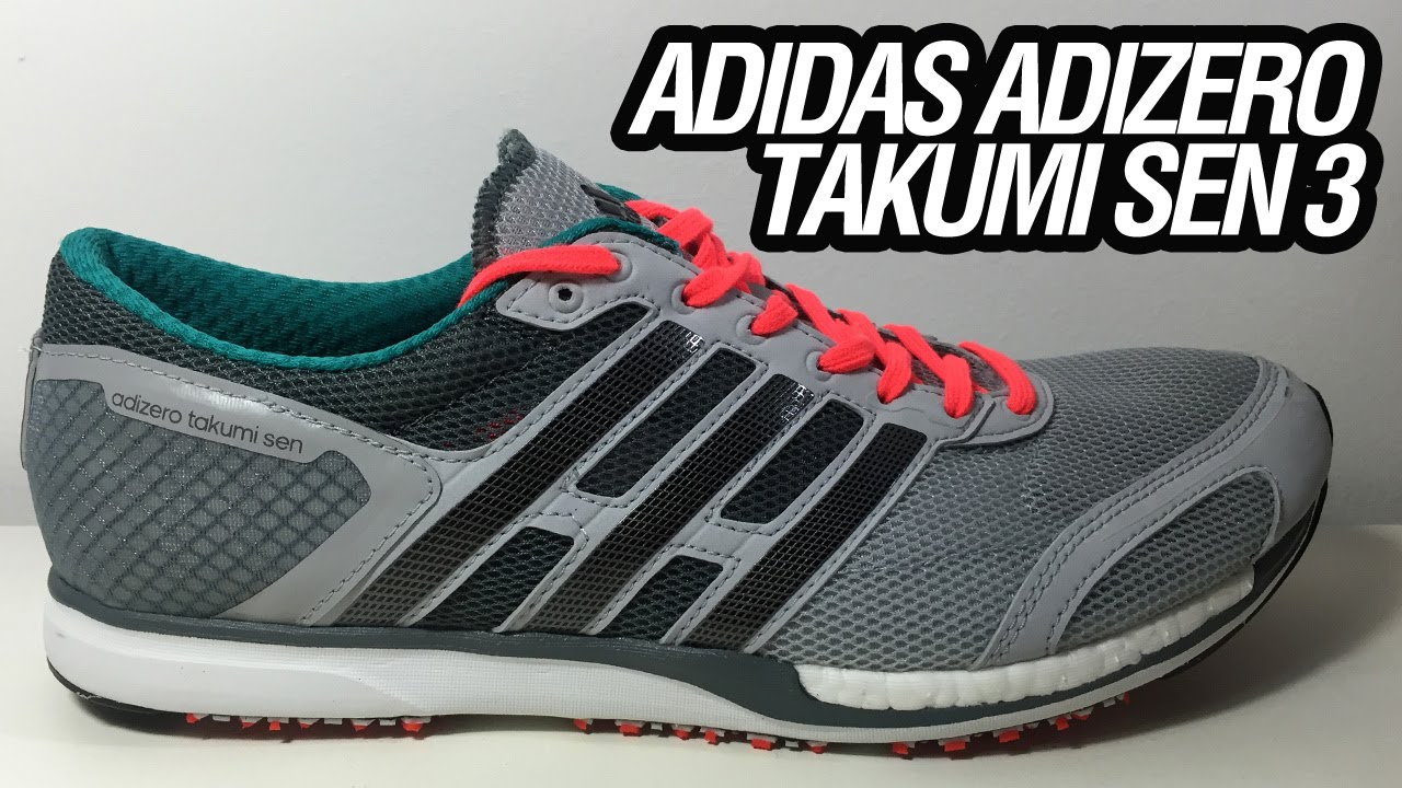 first rate 7ba96 514e8 adidas Adizero Takumi Sen 3 (Unboxing)