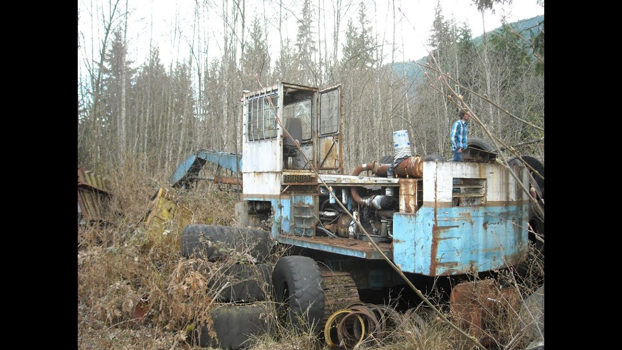 Abandoned Logging Equipment - YouTube