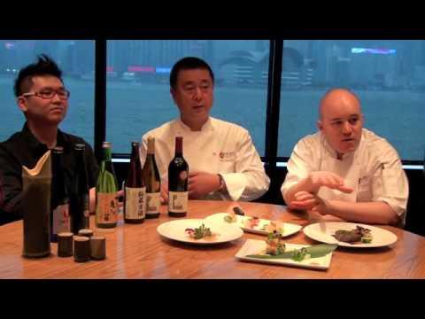 Nobu Matsuhisa discussing sake pairing with Asian Palate