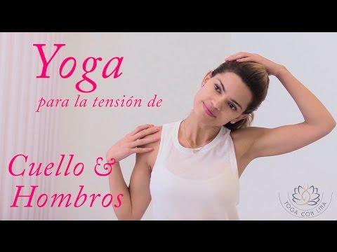 Yoga para relajar y liberar molestias en el cuello y hombros