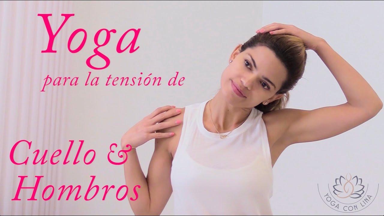 Yoga para relajar y liberar molestias en el cuello y hombros - YouTube 55ba4ec08153