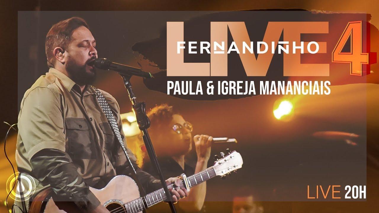LIVE #04 - PARTE 1 | Fernandinho e Ministério Mananciais |  26.06.2020 #FiqueEmCasa e Cante #Comigo