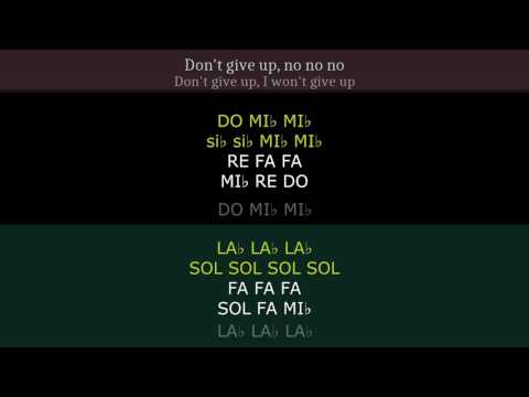 """The Greatest"" [Sia] Play along two-voice karaoke (main melody played)"