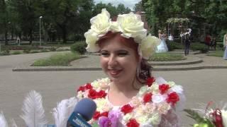 В Даугавпилсе в пятый, юбилейный раз прошел «Парад невест»