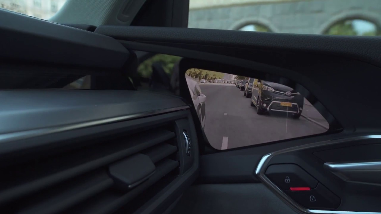 47506032b25 Audi e-tron prototype - Audi Virtual Mirror - YouTube