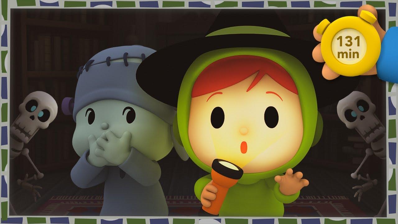 👻 POCOYO & NINA EPISODIOS COMPLETOS - Cuentos de fantasmas 131 min | CARICATURAS y DIBUJOS ANIMADOS