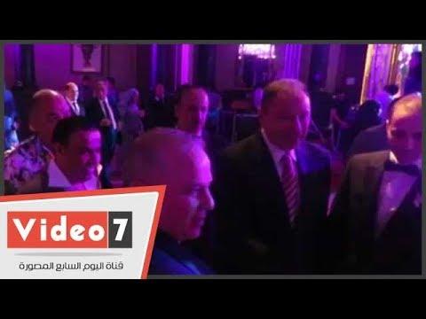 حفل زفاف نجل شوقى غريب بحضور وزير الرياضة والخطيب ورئيس المقاولون  - 01:21-2018 / 6 / 23