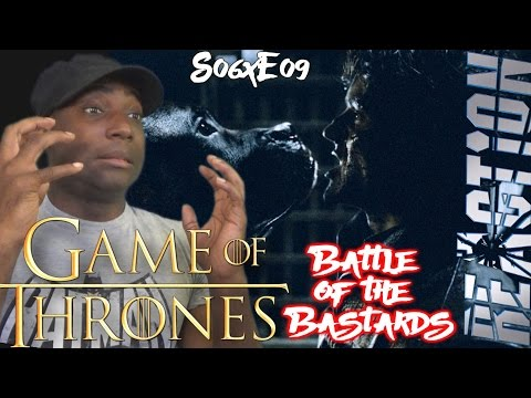 """Game of Thrones S06E09 REACTION! """"Battle of the Bastards"""""""
