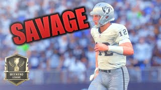 NEW ANDREW LUCC IS A SAVAGE | Madden 18 Weekend League Domination | Madden Ultimate Team