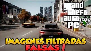 GTA V PC Imagenes Filtradas Son FALSAS GTA V Online