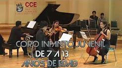CCE Núcleo de Carchi invita a niños y jovenes a ser parte de sus elencos musicales