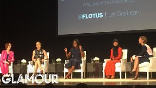 Michelle Obama Talks About the Power of Educated Girls