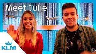 KLM Intern On A Mission - Meet Julie
